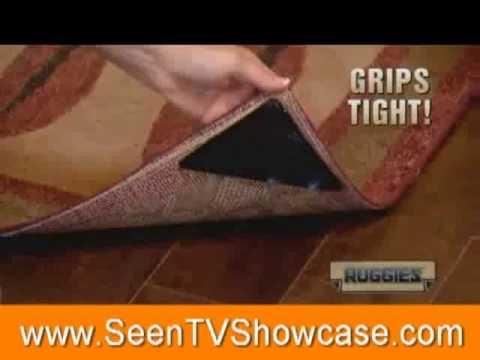 Ruggies Reusable Rug Grippers - www.SeenTVShowcase.com