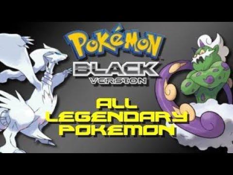 Pokemon Black: ALL Legendary Pokemon Locations!!!