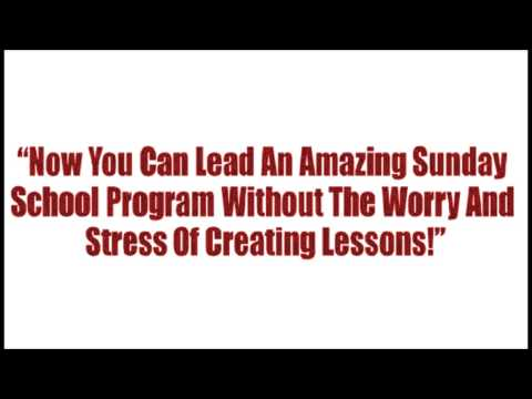 Sunday School Lessons for Youth | 160+ Fun & Easy Lessons