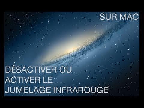 Activer ou désactiver le jumelage infrarouge sur Mac