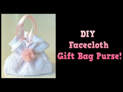 Great DIY Gift IDEA! Cute and useful DIY gift bag purse! Place Small Gifts inside!