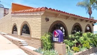 Oldest Operating Taco Bell In Orange County - Southern California Food Review at Laguna Beach