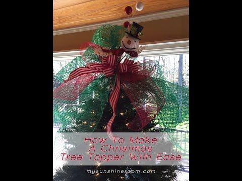 Bowdabra Christmas Tree Topper