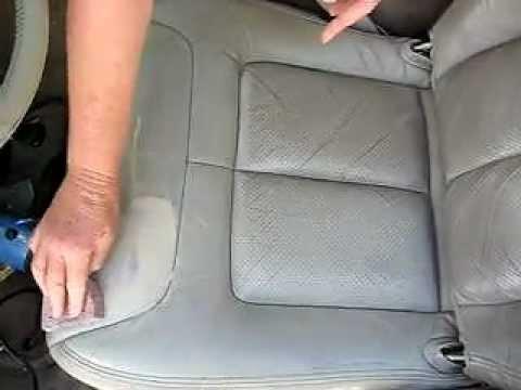 Cadillac Leather Interior Restoration