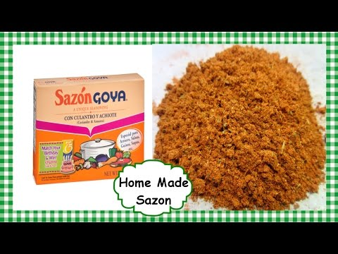 How to make Sazon Seasoning Spice ~ Homemade Sazon Recipe