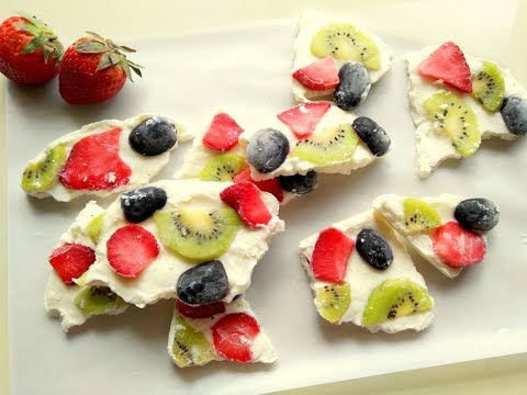 Healthy Yogurt Bark for Kids