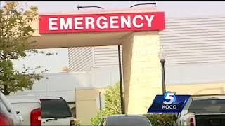 Thief caught on camera riding bike through Oklahoma City hospital