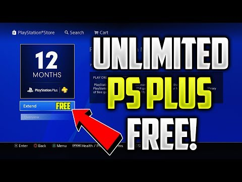 How To Get FREE PlayStation Plus FOREVER!(Unlimited PS Plus)(WORKING 2017)