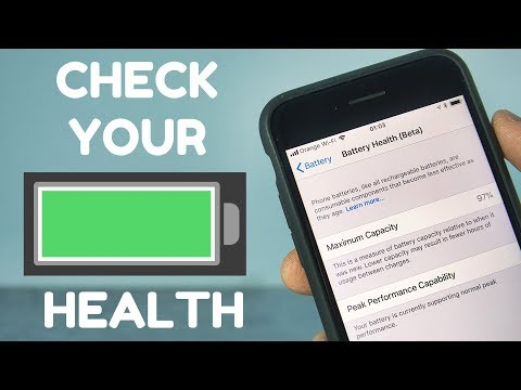 How To Check Battery Health On iPhone (iOS 11.3)