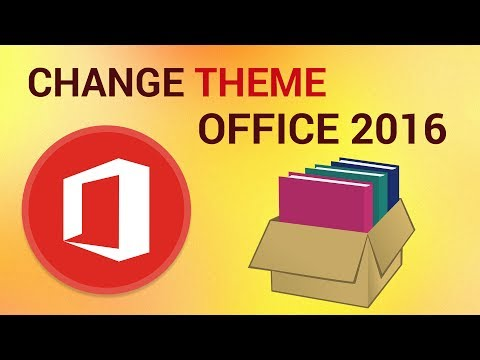 How to Change the Office 2016 Theme