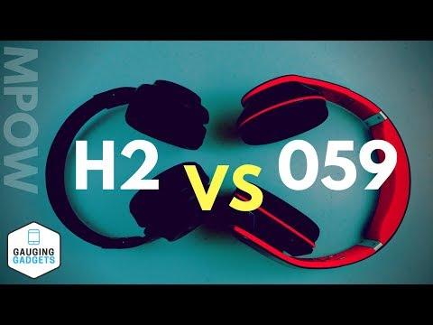 Mpow 059 vs Mpow H2 - Mpow Bluetooth Headphone Comparison