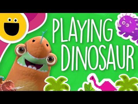 Marvie Pretends to be a Dinosaur (Sesame Studios)