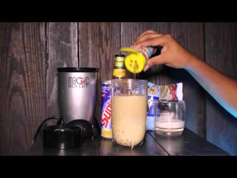 Jamaican Strong Back (Peanut Punch) Drink