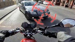 30+ Stupid & Crazy Motorcycle Close Calls & Near Misses   Moto Madness