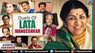 Duets Of Lata Mangeshkar |  Best Evergreen Romantic Songs | JUKEBOX | 90