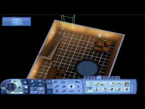 Making a secret basement in Sims 3