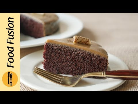 Chocolate Cake without oven Recipe By Food Fusion