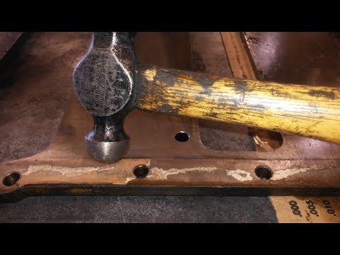 Remove Gaskets With A Hammer!  How To Remove Stuck On Gaskets.