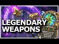 Hearthstone - Best of Legendary Weapons