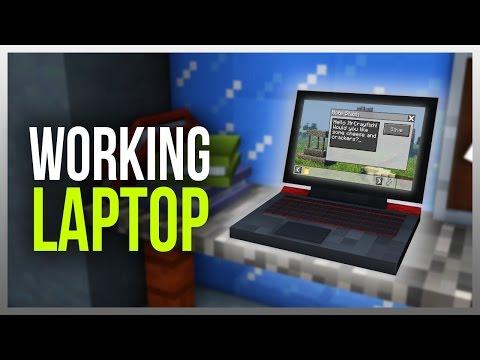 ✔️ Working LAPTOP in Minecraft!