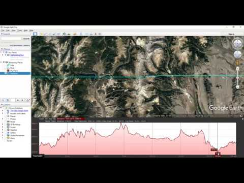 Create River Cross-Section/Elevation Profile using Google Earth