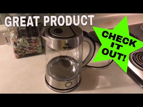 Royal Electric Tea Kettle Product Review