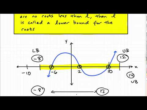 Descartes Rule of Signs - Upper and Lower Bounds