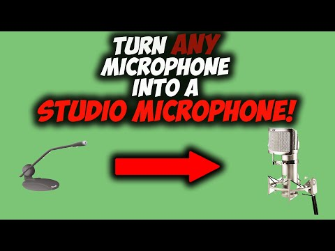 How To Make Your Microphone Sound Better No Audacity!