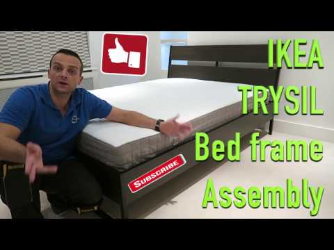 Ikea Trysil bed frame assembly