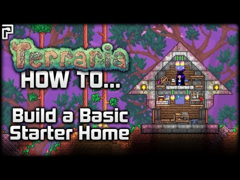Terraria Tutorial/Guide (1.3) | How To... Make a Basic Starter House!