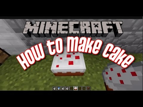 Minecraft - How to Make a Cake