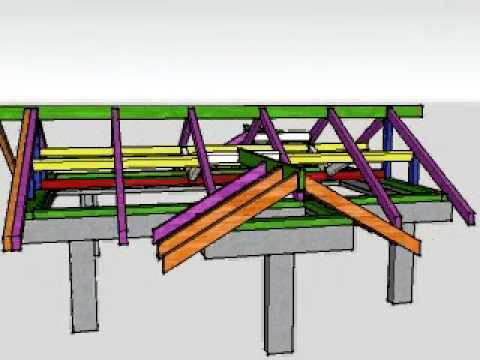 Gable Roof Exerise sketchUp 8