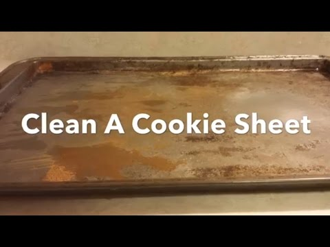 How To Clean A Cookie Sheet Bar Keepers Friend Cleans Burnt Stains And Rust.