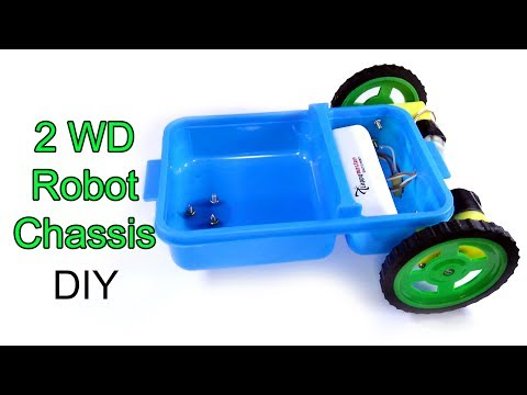 2WD robot/smart car chassis | How to make