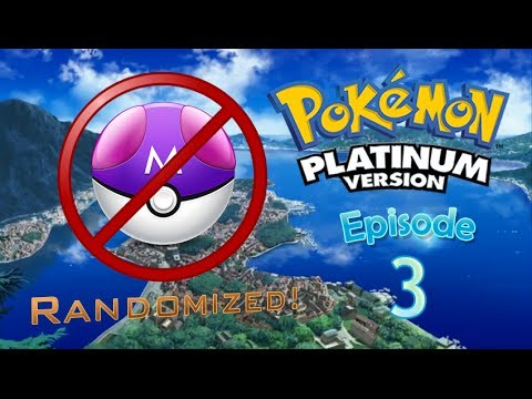 Pokémon Platinum Randomized - Episode 3 - The Master Ball Thief