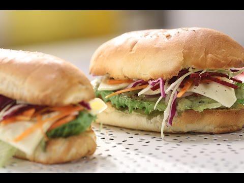 Tandoori Chicken Sandwich | Sanjeev Kapoor Khazana