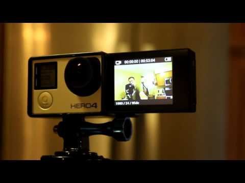 SHOOT 3in1 2' inch Touchable LCD Screen with Headphone Jack for GoPro Hero 3+/4