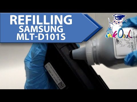 How to Refill SAMSUNG MLT-D101S (101 series) Toner Cartridges