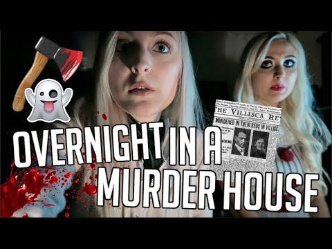 24 HOURS OVERNIGHT IN A REAL HAUNTED HOUSE