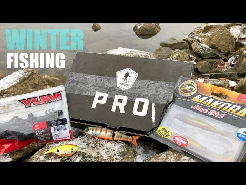 MTB Pro Slam in FREEZING Weather! (Winter Fishing Challenge)