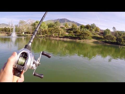 Fishing an OASIS in the California Desert!!! (MTB 1v1 Challenge)