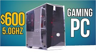 Meet SPARK, the $600 5.0ghz GAMING PC for Budget Enthusiasts!