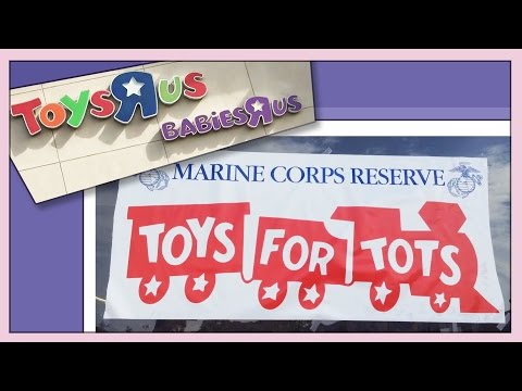 Toys For Tots Drive! American Girl Family
