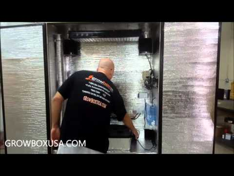 Grow Box USA Silverback EC (Environmental Control) Stealth Grow Box Walkaround!