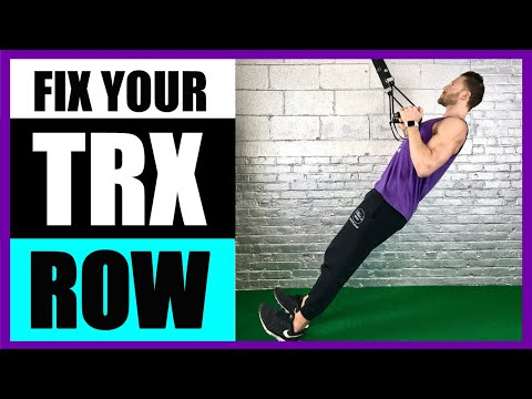 HOW TO TRX ROW | Are You Making These TRX Row Mistakes? - LIVE!