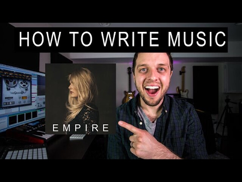 How to Write Music - 3 Tips for Making An Album