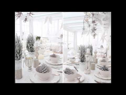 Ideas for Christmas winter wonderland decorations
