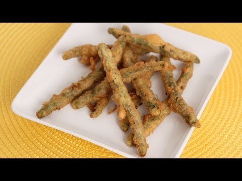 Fried Green Beans Recipe - Laura Vitale - Laura in the Kitchen Episode 615