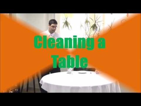 Table-Setting At a Breakfast