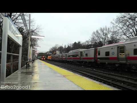 Metro-North Railroad: PM Trains at Woodlawn, NY RR (60FPS)